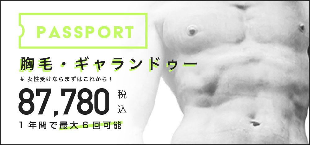新宿の胸毛・ギャランドゥー脱毛キャンペーン